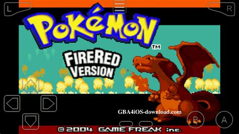Pokmon Fire Red Version Cheat Code Gba4ios Download
