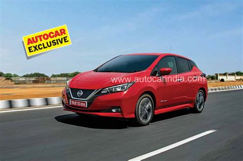 2019 Nissan Leaf Review by 2019 Nissan Leaf Review Test Drive Autocar India