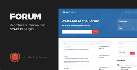 Bbpress Themes Forum A Responsive Theme For Bbpress Plugin By Dannci