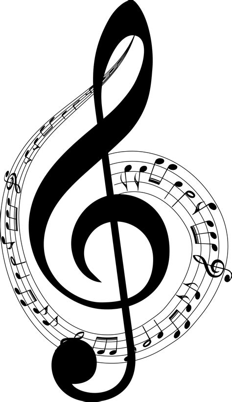 Clipart Musical Notes Typography