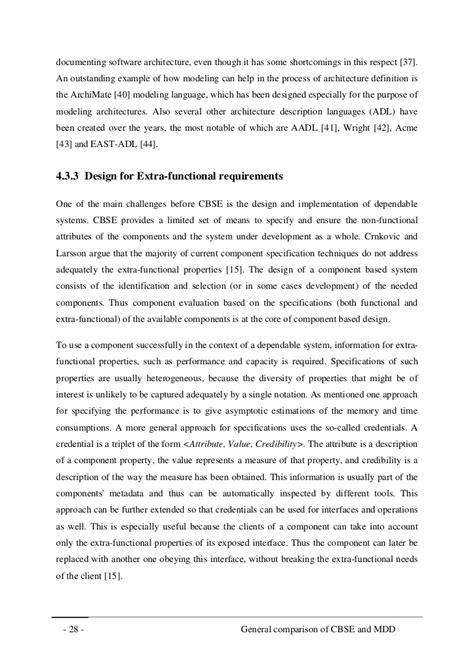 A comparison of component-based software engineering and