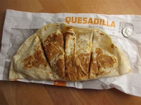 Review: Taco Bell - Double Crispy Chicken Quesadilla ...