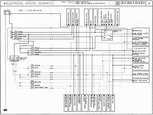 1989 Mazda B2600i Wiring Diagrams
