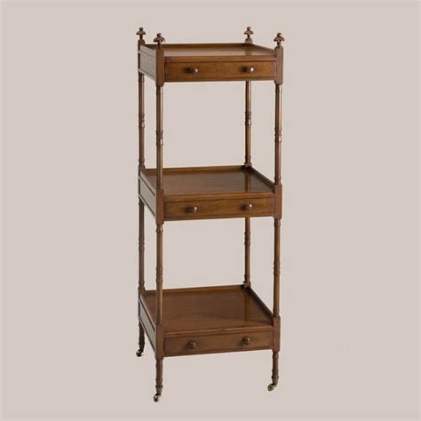 3 Tier Etagere by 6158 Square 3 Tier Etagere With Drawers Paul Ferrante