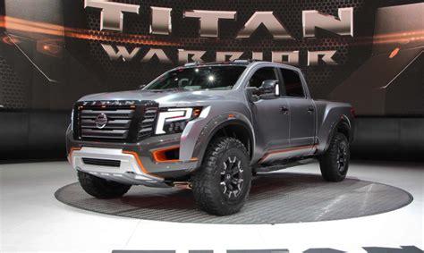 2020 Nissan Titan Warrior by 2020 Nissan Titan Warrior Changes Release Date Price