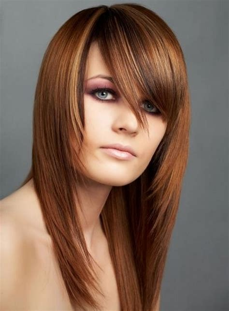 Women Fashion Hairstyle Layered Hairstyles