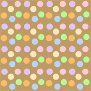 Brown Pastel Polka Dot Background - Brown Pastel Polka Dot ...