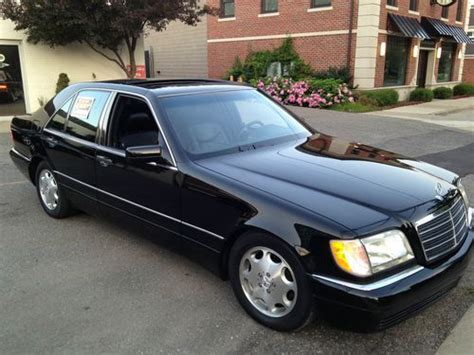 Find Used 1996 Mercedes S320 Class In Birmingham, Michigan