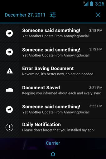 android notifications 5 ways the new android design guidelines will make apps