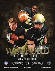 2015 Wofford Football Media Guide by Wofford Athletics - Issuu