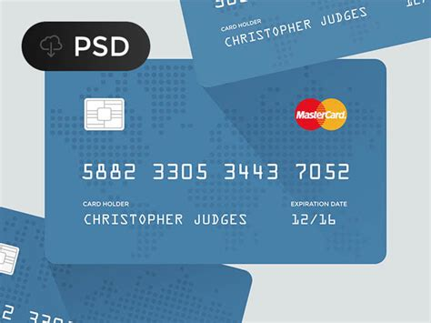 credit card psd template images credit card design