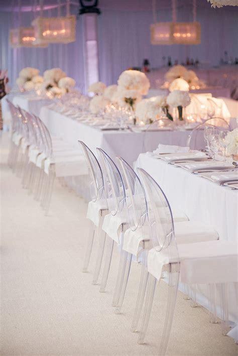 all white wedding decor the magazine