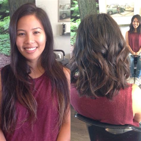 typical long asian hair   lob  baby highlights yelp