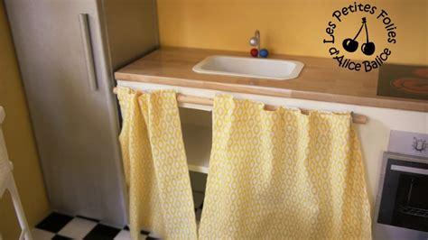 rideau cuisine meuble à rideau pour cuisine
