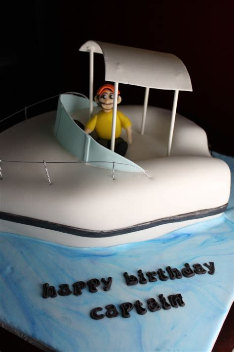 Boat Birthday Cake by Fishing Boat Cake Lil Miss Cakes