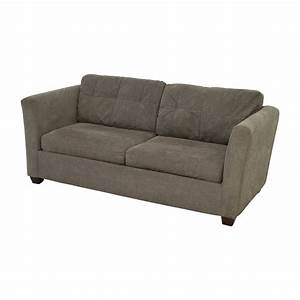 58 off bauhaus bauhaus grey queen sleeper sofa sofas for Bauhaus sectional sleeper sofa