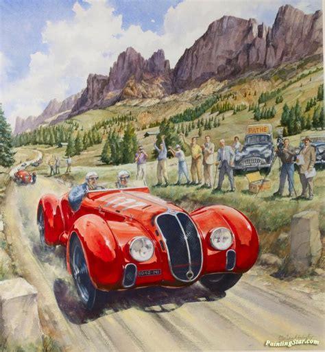 1947 Dolomite Cup, The Winning Alfa Romeo 6c2500 Tipo 256