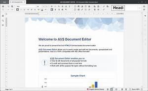 Avs document editor 423 metin belge olusturma ve for Html documents editor