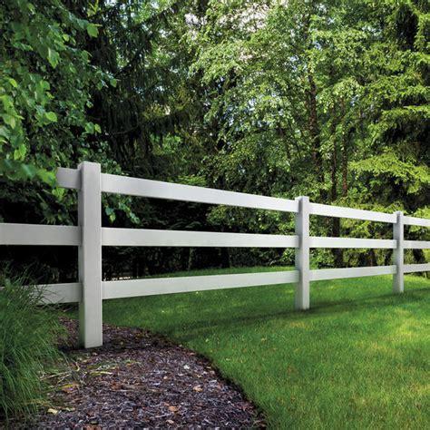 vinyl fencing security fence   rail ranch