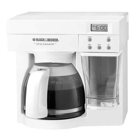 cabinet coffee maker black decker spacemaker 12 cup the counter coffee