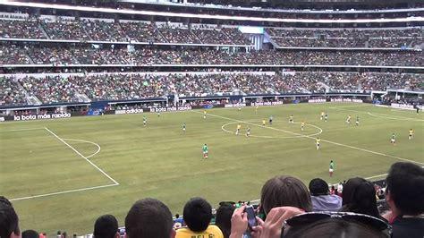 mexico  brasil  cowboys stadium arlington texas futbol soccer  asi lo vivi youtube