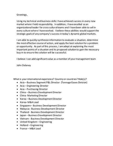 Cover Letter Looking For New Opportunities by Cover Letter For New Opportunities