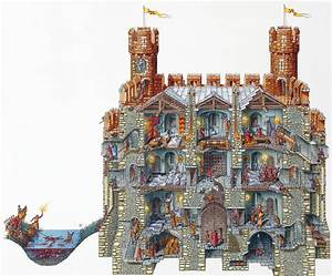 Stephen Biesty - Illustrator - Cross Sections - Gatehouse