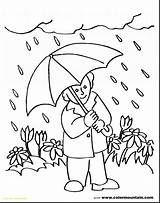 Rainy Weather Drawing Coloring Pages Paintingvalley Drawings sketch template