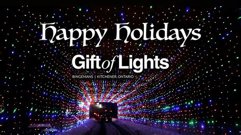 gift  lights bingemans kitchener ontario drive