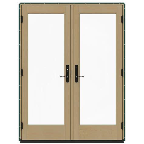 jeld wen patio doors reviews jeld wen 60 in x 80 in w 4500 hartford green prehung