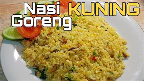 Selain itu nasi kuning juga cocok untuk dijadikan menu makan siang di rumah. RESEP NASI GORENG KUNING - YouTube