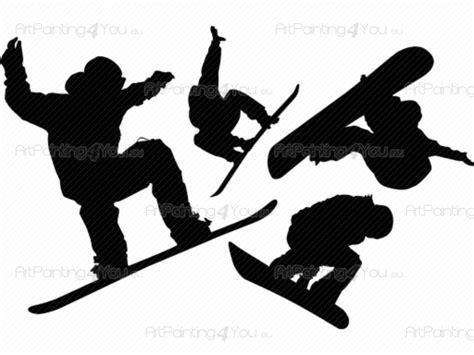 wandtattoo snowboard kit artpaintingyoueu vddde