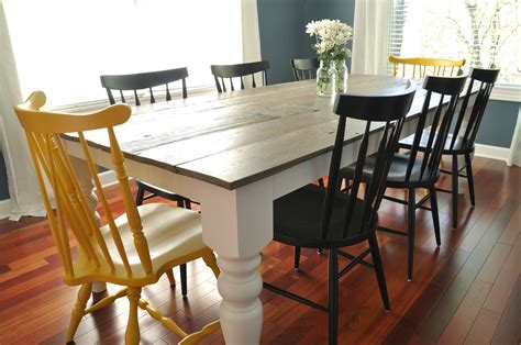 farm style kitchen table for sale 7 diy farmhouse tables with free plans
