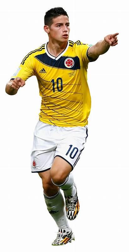 Rodriguez James Render Colombia Football Footyrenders Renders