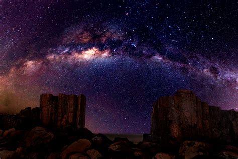 Desert Night Sky Milky Way  Wallpapers Gallery