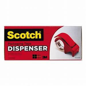 Scotch Box Sealing Tape Dispenser Instructions