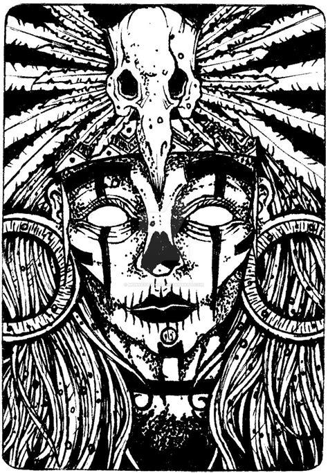 black art voodoo - Google Search | Voodoo tattoo, Witch tattoo, Mask drawing