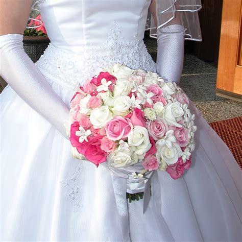 pink wedding flowers file bridal bouquet white pink stephanotis jpg