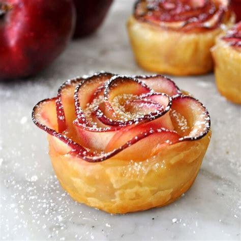 recette les d 233 licieuses roses feuillet 233 es aux pommes