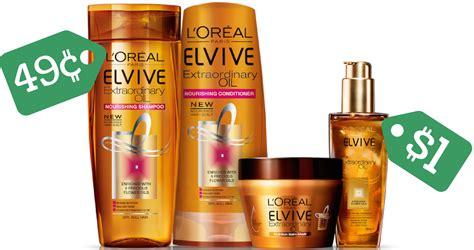 loreal coupon elvive shampoo  conditioner