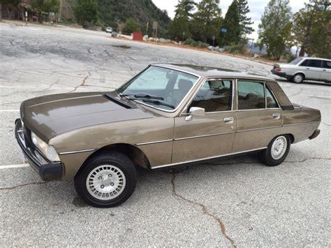 Peugeot 604 For Sale by Original 1975 Peugeot 604 Sl Sedan