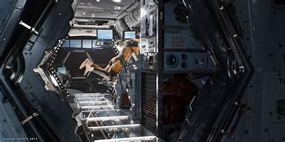 Spaceship Interior Arnaud Valette