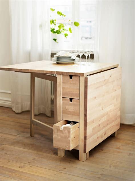 table pliante pour cuisine la table de cuisine pliante 50 idées pour sauver d
