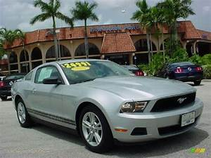 2010 Ford Mustang V6 Premium Coupe in Brilliant Silver Metallic - 131155 | Jax Sports Cars ...