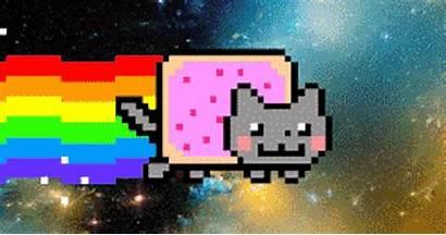Gifs Animados Melhores Como Imagens Cat Nyan