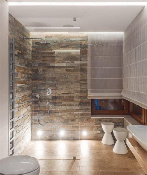 Bilder Für Badezimmer Wand by Ebenerdige Dusche Badezimmer Natursteinfliesen Wand