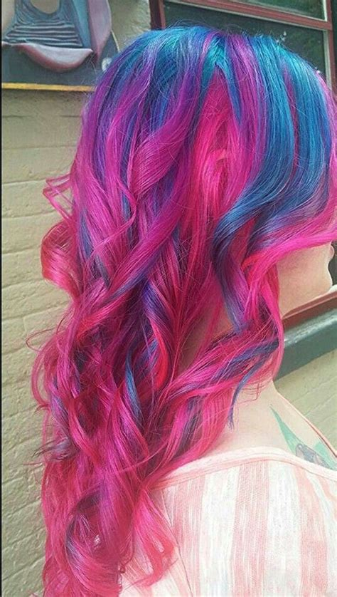 25 Best Ideas About Blue And Pink Hair On Pinterest