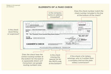 dont cash  check  business bureau study shows
