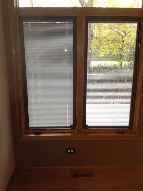 casement window  blinds   glass     pella eagle   brand