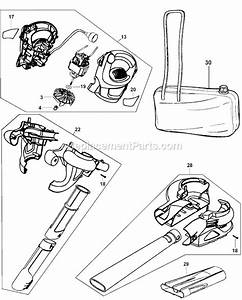Black And Decker Bv4000 Parts List And Diagram